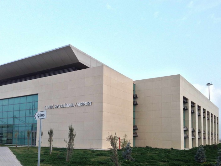 Aeroporto Elazig - Rivestimento Pareti in Marmo