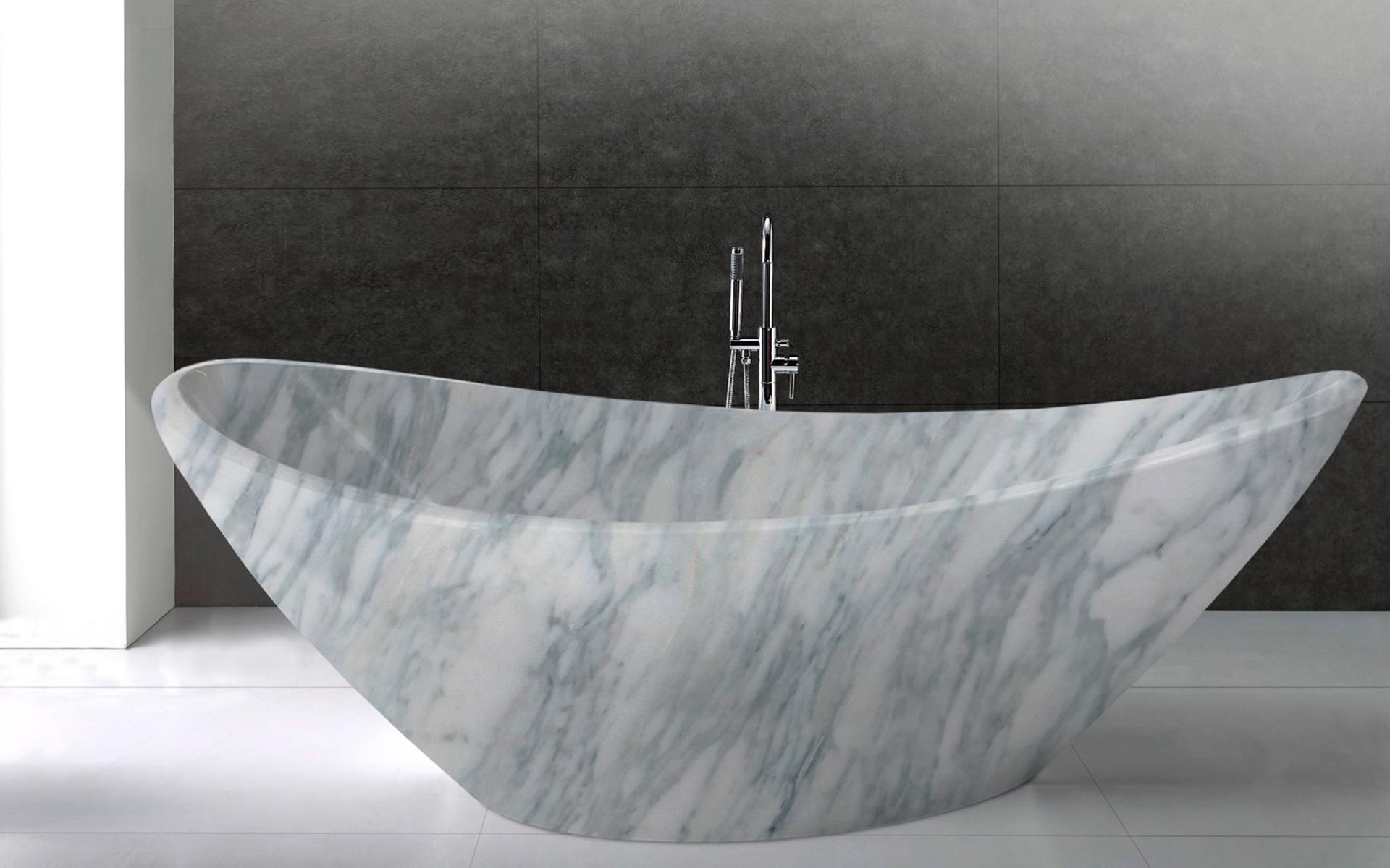 006 vasca da bagno in marmo