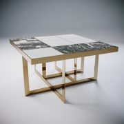 rubik - tavolo in marmo